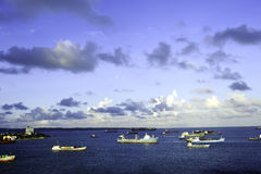 Harbor Colon Panama stock photo