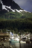 Harbor, Cordova,Alaska Stock Images