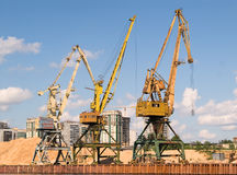 Harbor crane Royalty Free Stock Photography