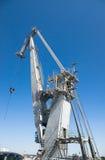 Harbor crane Royalty Free Stock Photography
