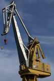 Harbor crane Stock Photos