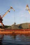 Harbor crane. In operation v2 Stock Photos