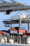 Harbor crane Stock Image