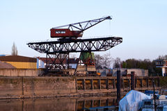 Harbor Crane Royalty Free Stock Photos