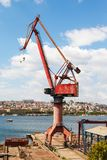 Harbor crane Royalty Free Stock Photo