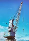 Harbor crane. Stock Images