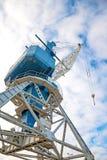 Harbor crane. Stock Photos