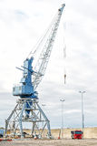 Harbor crane. Stock Photos