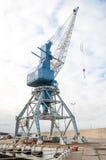 Harbor crane. Stock Image