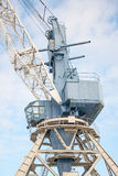 Harbor crane. Royalty Free Stock Photo