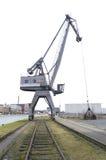 Harbor crane Stock Photos
