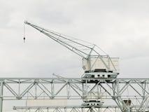 Harbor Cranes. Harbor industrial cranes in Copenhagen harbor Stock Photography