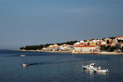 Harbor croatia brac Stock Photography