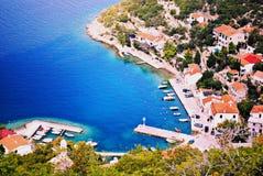 Harbor. In Croatia/Dalmacia summer 2015 Royalty Free Stock Images