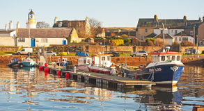 Harbor at Cromarty Royalty Free Stock Photo