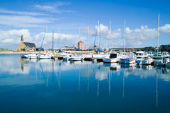 Harbor of Crozon camaret in brittany Royalty Free Stock Photo
