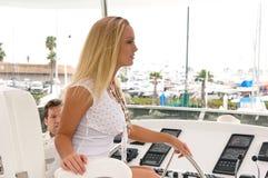 Harbor Cruise Royalty Free Stock Photos