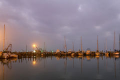 Harbor at Dawn Royalty Free Stock Image