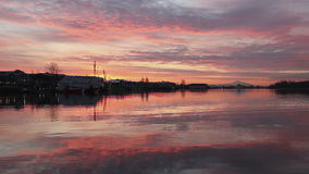 Harbor Dawn, Steveston stock footage