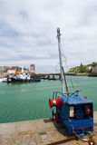 Harbor in Dieppe Stock Photo