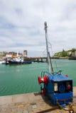 Harbor in Dieppe Stock Photo
