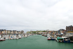 Harbor Dieppe Stock Photography