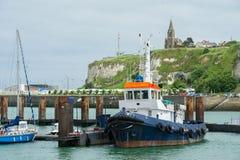 Harbor Dieppe Stock Photography