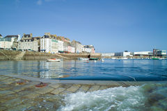 Harbor of douarnenez in brittany Stock Photography