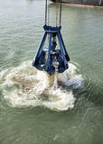 Harbor Dredging Stock Image