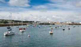 Harbor of Dublin Howth Royalty Free Stock Photography