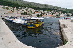 Harbor Dubrovnik Stock Image