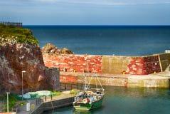 Harbor of Dunbar Royalty Free Stock Photo