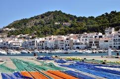 Harbor El Port de la Selva in Spain Royalty Free Stock Photography