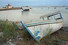 Harbor of el quesir Stock Images