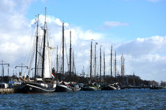 Harbor of Enkhuizen Royalty Free Stock Photography