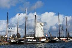 Harbor of Enkhuizen Stock Photography