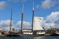 Harbor of Enkhuizen Royalty Free Stock Image