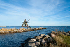 Harbor entrance Royalty Free Stock Photo
