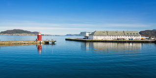 Harbor Entrance,  Alesund, Norway Stock Photo