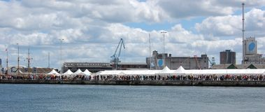 Harbor festival Royalty Free Stock Photos