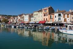 Harbor - fisherman boats. Provence - France stock photos