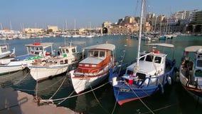 Harbor fishing port Royalty Free Stock Photo