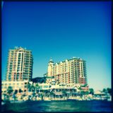 Harborwalk in Florida Stock Image
