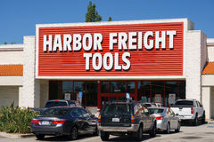 Harbor Freight Tools Retail Store. BUENA PARK, CA/USA - OCTOBER 10, 2015: Harbor Freight Tools retail store. Harbor Freight Tools is a privately held discount stock image