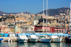 Harbor of Genoa Royalty Free Stock Photos
