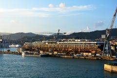 Harbor of Genoa Stock Photography