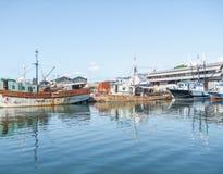 Harbor at Havana in Cuba Stock Photos