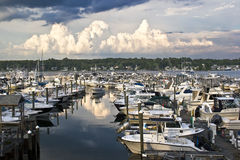 Harbor Hill Marina Stock Photos