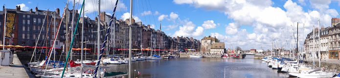 The harbor at Honfleur Stock Photos