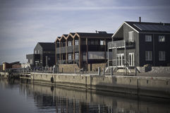 Harbor Houses Royalty Free Stock Image